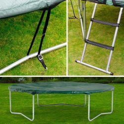 Plum 8ft Trampoline Accessory Kit