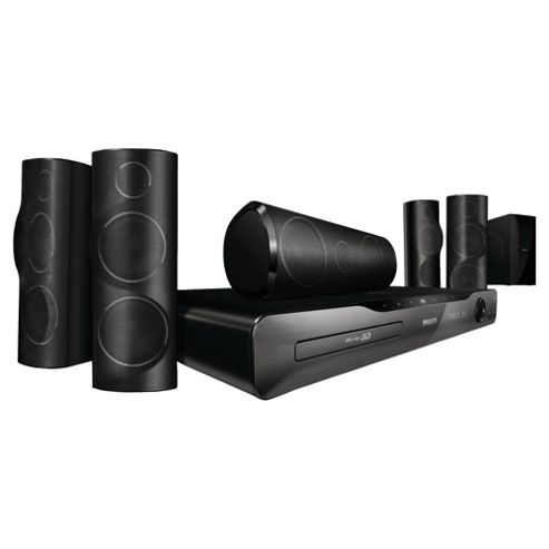 Philips HTS5562 Immersive Sound Home theatre with 3D Angled speakers