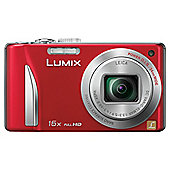 Panasonic TZ25 Red Digital Camera