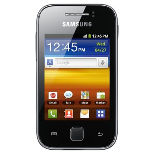Tesco Mobile Samsung Galaxy Y Black