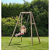 Plum® Wooden Single Swing Set