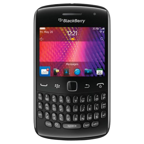 Tesco Mobile BlackBerry® Curve™ 9360 Black