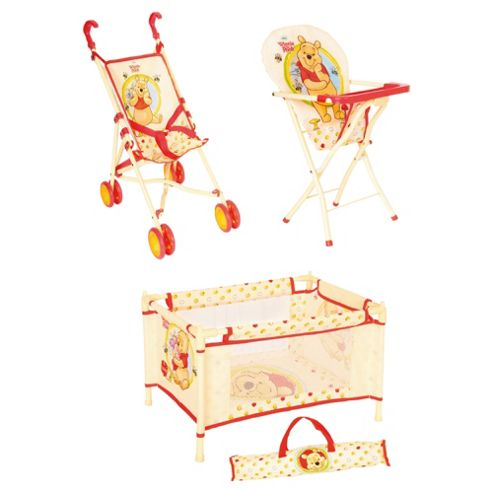 Winnie The Pooh Adventure 3 Piece Travel Set