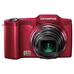 Olympus SZ-14 Digital Camera - Red