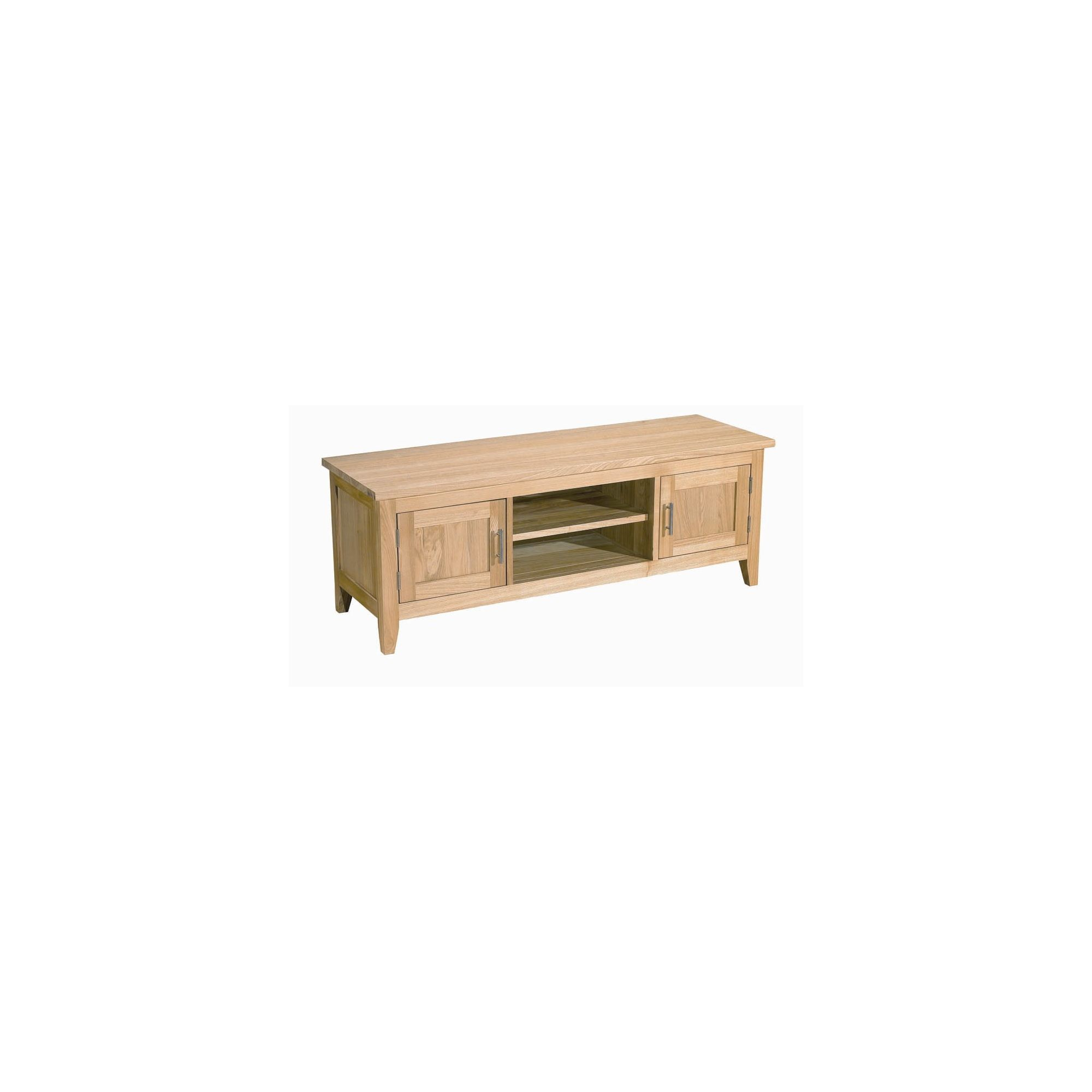 Kelburn Furniture Carlton Ash Wooden TV Cabinet at Tescos Direct
