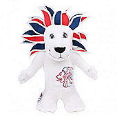 London 2012 Pride Lion 20cm Soft Toy