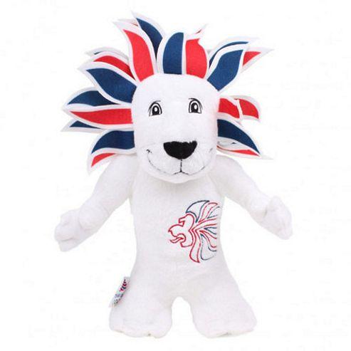 London 2012 Pride Lion 20cm Soft Toy