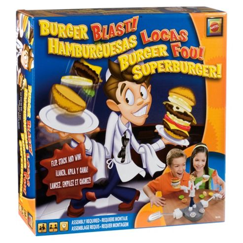 The Burger Blast Game