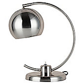 Tesco Lighting Soho Desk Lamp, Brushed Nickel