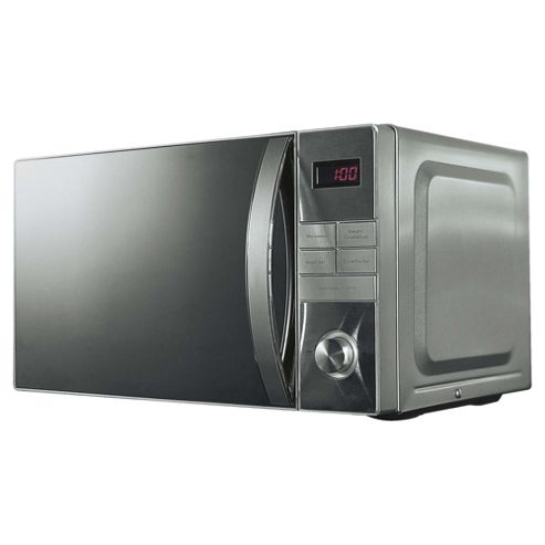 Tesco Plus Solo Microwave MP2014 20L, Stainless Steel