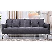 Leader Lifestyle Sven Sofa Bed - Pebble Grey Fabric