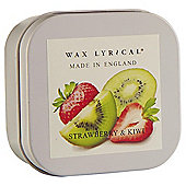 Wax Lyrical Strawberry And Kiwi Filled Tin Candle