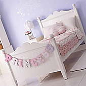 Princess Single Bed - White