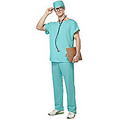 Doctor Scrubs Costume Extra Large