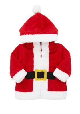 Buy F Amp F Santa Fleece Zip Through Hoodie From Our Novelty