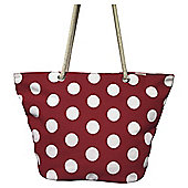 Tesco Spotty Beach Bag