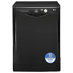 Indesit Dishwasher, DFG15B1K, Black