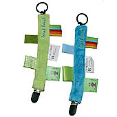 Label Label Pacifier Clip (Blue)
