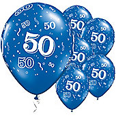 11' 50th Around Sapphire Blue (25pk)