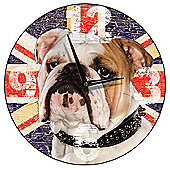 Smith & Taylor British Bulldog Wall Clock