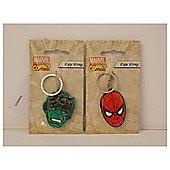 Spiderman and Hulk Mixed Key ring