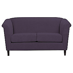 Amelie Small 2 seater Sofa Plum