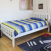 Walker Single Bed - White