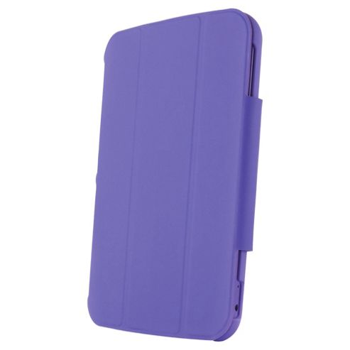 "Hudl 7"" Soft-touch folding case & stand, Purple"