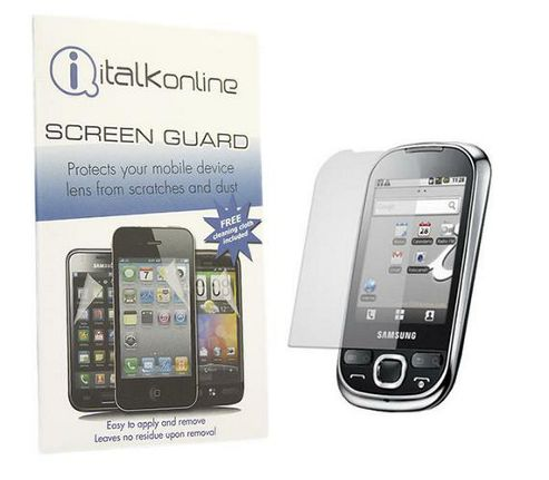 iTALKonline S-Protect LCD Protector and Cleaning Cloth For - Samsung i5500 Galaxy Europa