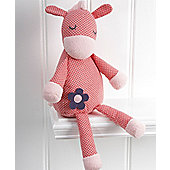Mamas & Papas - Pink Lemonade - Donkey Soft Chime Toy