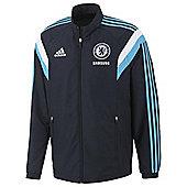 2014-15 Chelsea Adidas Presentation Jacket (Navy) - Navy