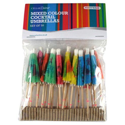 CELLARDine Cocktail Umbrellas, 50pc