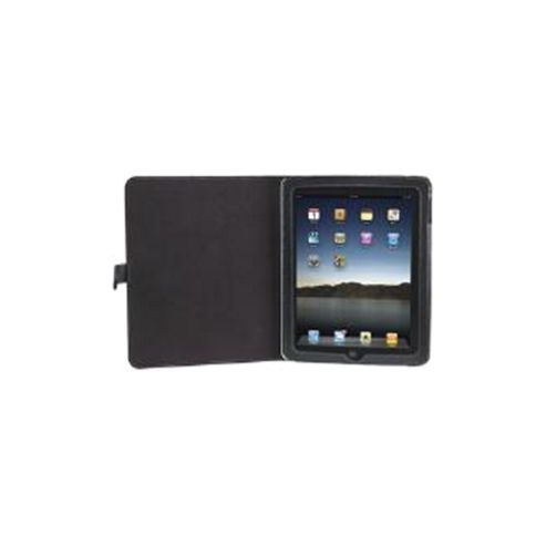 Manhattan iPad Leather Case (Black)