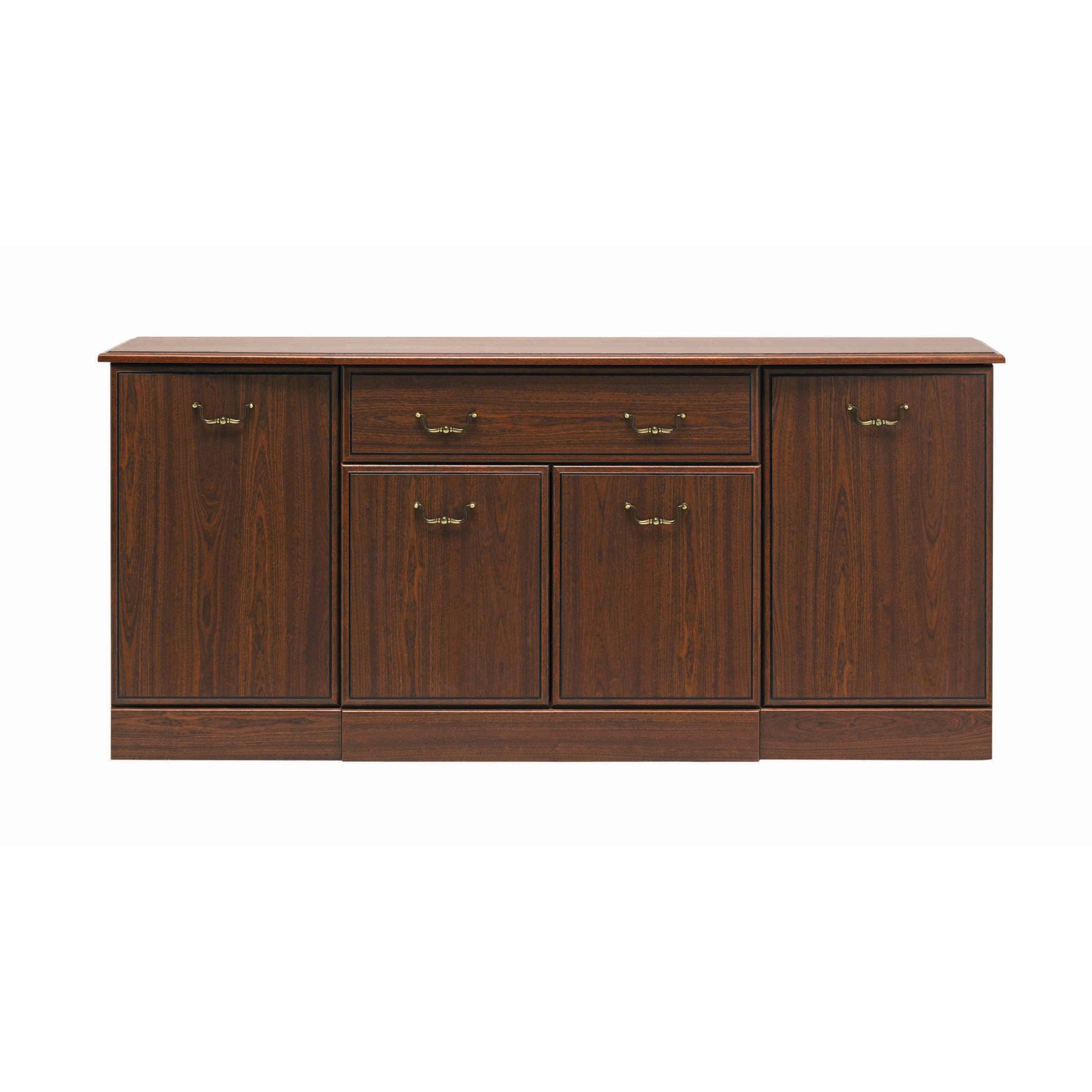 Caxton Byron Four Door Sideboard in Mahogany at Tesco Direct
