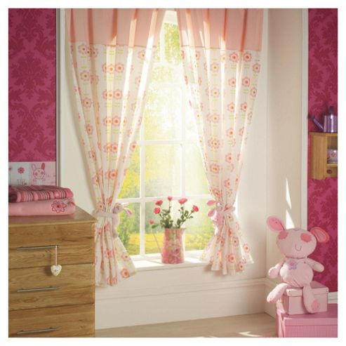 Lollipop Lane Upsy Daisy Curtains Large