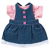 Tatty Teddy Dress-Up Denim Dress And T-Shirt