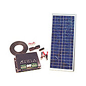18W Solar Panel Kit 12V Caravan Boat Water Resistant