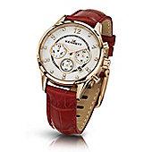 Kennett Savro Ladies Chronograph Watch - LWSAVWHGOLRE
