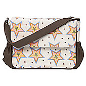 Rosebud Stars Messenger Changing Bag
