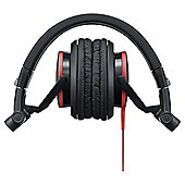 Sony Foldable Headphones with 40mm Driver Unit Neodymium Magnet and 1.2m Cord - Red