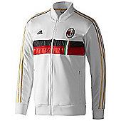 2013-14 AC Milan Adidas Anthem Jacket (White) - White