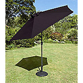 Europa Leisure Tuscany Parasol in Black - 270 cm