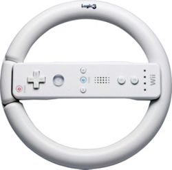 Sports Wheel for Nintendo Wii