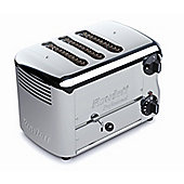 Rowlett Rutland Esprit 3 Slice Thick and Thin Toaster with 2 Thin and 1 Thick Bun Mode Slot - Polished Stainless Steel