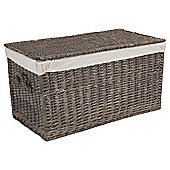 Tesco Wicker Trunk, Grey