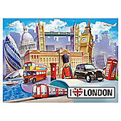 London 100 Piece Jigsaw Puzzle
