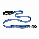 Ruff Wear Flat Out Dog Leash in Glacial Blue