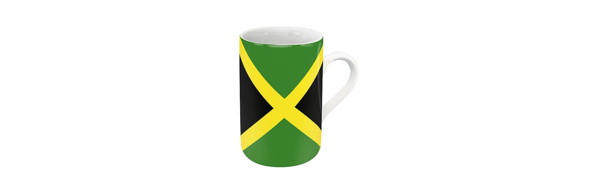 K?nitz Flags and Countries Jamaica Mug (Set of 4)