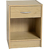 Home Essence Newhaven 1 Drawer Bedside Table
