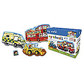 Gibsons My World My Wheels 4-16 piece Jigsaw Puzzles